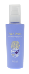 """Hair Dress Несмываемая восстанавливающая  эмульсия для поврежденных волос с эффектом стайлинга """" Одежда для волос """"180м"""