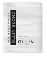 Препараты для обесцвечивания волос, снятия цвета OLLIN BLOND Осветляющий порошок 30гр