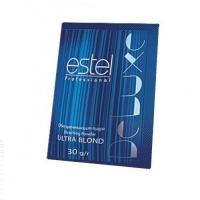 Краски для волос и оксиды Обесцвечивающая пудра для волос  ESTEL ULTRA BLOND DE LUXE  30г в боксах