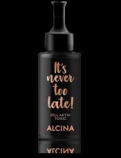 Alcina It`s never too late Интенсивный тоник для лица против морщинZell-Aktiv 50 мл