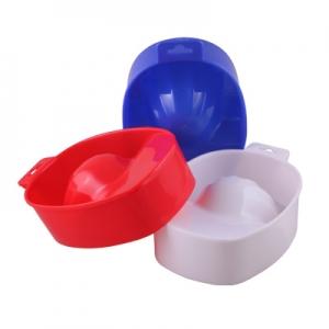 0108 RuNail Ванночка для маникюра и снятия акрила (пластик)