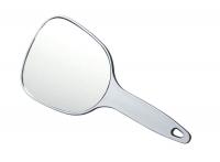 Парикмахерские аксессуары Зеркало косметическое с ручкой, пластик 12х15 см