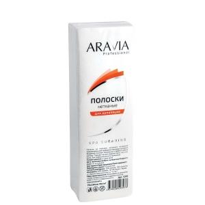 Aravia Полоски нетканые для депиляции 76х230мм, 90 г/м (100шт)