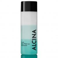 Уход за телом и лицом, крема, лосьоны, ампулы Альцина Жидкость для мягкого снятия макияжа с глаз/губ 100мл