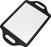 Деваль Зеркало заднего вида, пластик, черное, с двумя ручками, 36х22см