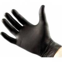 Сопутствующие товары для работы парикмахеров Перчатки нитриловые черные (100шт)