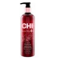 CHI Rose Hip Oil Кондиционер для волос с маслом лепестков роз 340мл