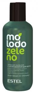 Estel Бальзам-Эликсир для волос с хлорофиллом Molodo Zeleno 200 мл