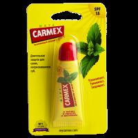 Уход для лица Бальзам для губ Carmex мята защита SPF-15 в тубе 10г