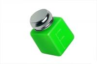 Помпа для жидкости метталическая крышка,непрозачный пластик зеленая