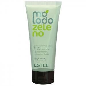 Estel Маска-увлажнение для лица с хлорофиллом Molodo Zeleno 100 мл