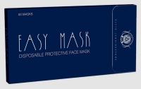 """Одноразовые защитные маски для лица (50шт) """"EASY MASK"""""""