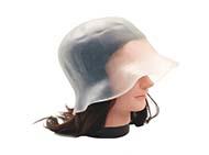 Аксессуары для окрашивания волос Шапочка для мелирования силиконовая с крючком