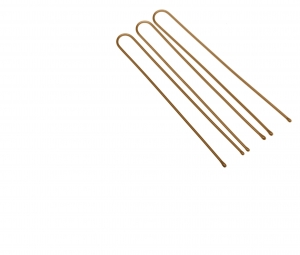 Деваль Шпильки прямые коричн. 60мм/60шт SLT60P-3/60