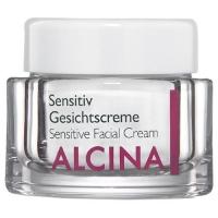 Уход за телом и лицом, крема, лосьоны, ампулы ALCINA крем для чувствительной кожи лица Sensitiv Gesichtscreme - 50 мл