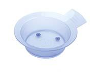 Кисточки для окрашивания, мисочки, распылители, выжиматели для краски Деваль Чаша для окр. голубая 300мл