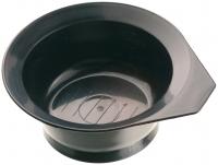 Аксессуары для окрашивания волос Чаша для окрашивания с ручкой черная, 260 мл