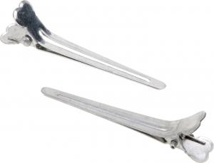 Зажим средний, металл, 5,5 см (12 шт)