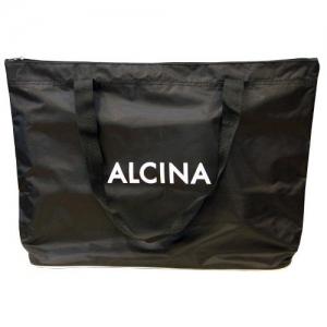 Сумка Альцина для парикмахеров большая черная с окантовкой