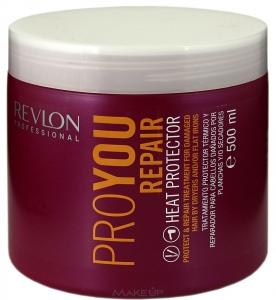 Revlon Professiona серия Pro You Маска Термозащитная восстанавливающая для поврежденных волос 500мл