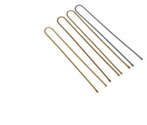 Деваль Шпильки прямые серебро 60мм/200гр SLT60P-4S/200