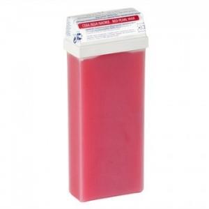 Кассета с воском для депиляции красный перламутровый - 110 гр Beauty Image