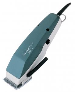 Moser Edition 1400 Профессиональная сетевая машинка с вибромотором для стрижки волос, цвет зелёный