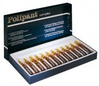 Ампульное лечение волос и кожи головы  Ампулы от выпадения волос Polipant complex (упак-12шт)