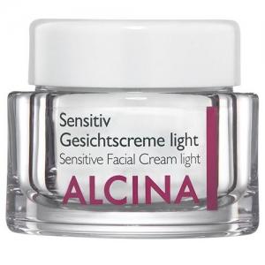 ALCINA легкий крем для чувствительной кожи лица Sensitiv Gesichtscreme light - 50 мл