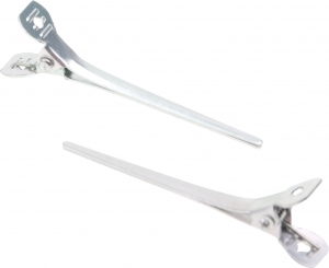 Зажим узкий, металл, 5,5 см (12 шт)