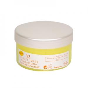 Крем-парафин косметический (холодный парафин) лимон - 250 гр. Beauty Image