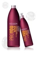 Revlon Professiona серия Pro You Шампунь Термозащитный восстанавливающий для поврежденных волос 1000мл