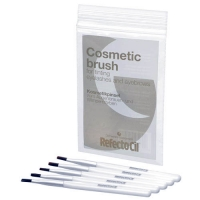 Краска для бровей и ресниц Косметические кисточки для окраски бровей и ресниц жесткие - 5 шт