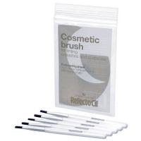 Косметические кисточки для окраски бровей и ресниц жесткие - 5 шт