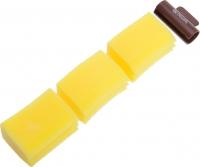 Одноразовая продукция, расходные материалы Губки-спонж для химической завивки 3 шт. Dewal