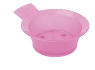 Кисточки для окрашивания, мисочки, распылители, выжиматели для краски Деваль Чаша для окр. розовая 300мл