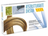 Ампульное лечение волос и кожи головы Dikson Ristrutturante Реструктурирующий комплекс в ампулах, 12 штук в упаковке