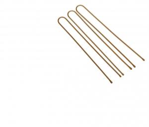 Деваль Шпильки прямые серебро 60мм/60шт SLT60P-4S/60