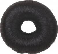 Шпильки, невидимки, зажимы, резинки, валики для причесок Деваль Валик круглый  из искусственных волос , диаметр 8 см