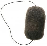 Шпильки, невидимки, зажимы, резинки, валики для причесок Валик овальный Деваль для причесок, сетка с резинкой