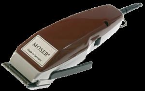 Moser Профессиональная сетевая машинка с вибромотором 1400 Edition бордо 2 насадки