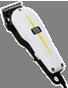 Машинки профессиональные для стрижки волос Wahl Профессиональная сетевая машинка с вибромоторм Super Taper белый