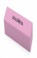 """06-542 Соломея Блок-шлифов. д/ногтей нежный розовый 120грит """"Delicate Pink Sanding Block"""" 142522"""