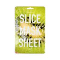 "Kocostar SLICE MASK SHEET (KIWI) Маска-слайс для лица ""Киви"", 20мл"