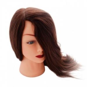 """Голова """"шатенка"""", волосы 30-40см"""