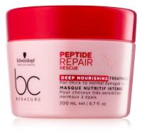Маски для волос Bonacure Peptide Маска Спасительное восстановление 200 мл