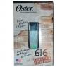 OSTER 616-70 Вибрационная машинка для стрижки волос цвет серебристый лимитированный выпуск