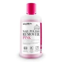 Жидкости для снятия лака, дезинфекторы, обезжириватели, снятие гель-лака, акрила, искуственных ногтей, мыло для рук Solomeya Жидкость для снятия лака Розовая