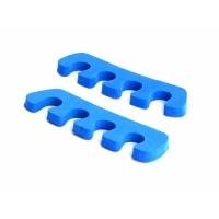 Маникюрные и педикюрные инструменты, пилки 0156 RuNail Разделители для пальцев ног синие 8мм