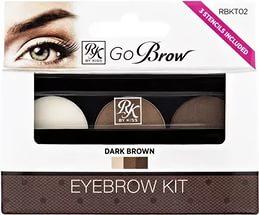 """Кисс Набор для моделирования бровей """"Go Brow"""" (dark brown)"""